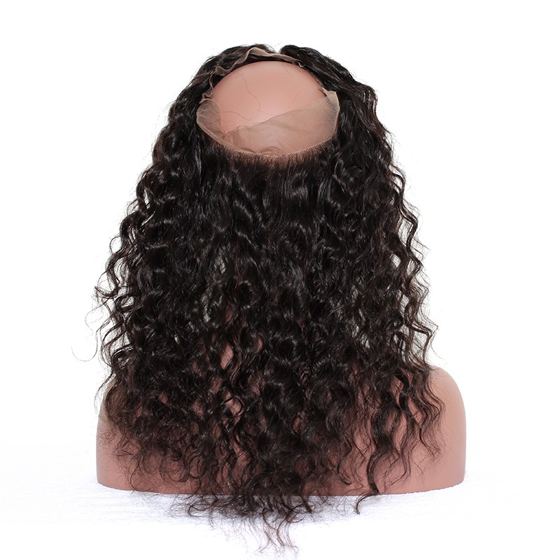 360 Lace Frontal Indian Ocean Water Wave Yes Weave Hair